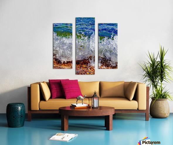 Millennium Splash Canvas print