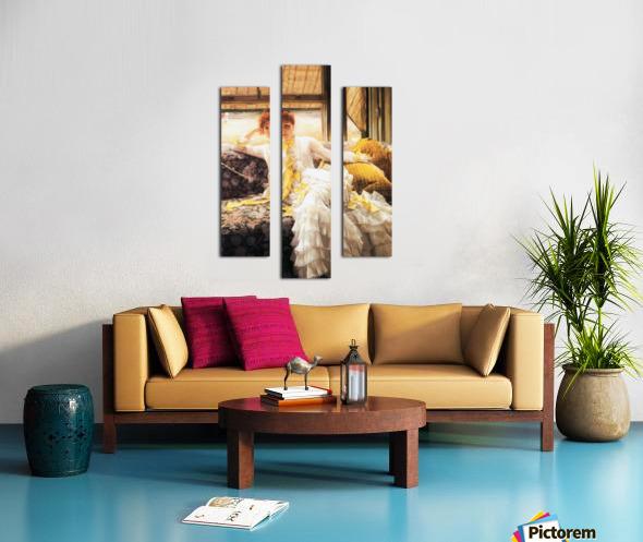 July by Tissot Canvas print