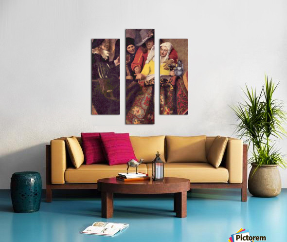 Kupplerin by Vermeer Canvas print