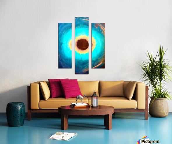 Glimpse of Black Hole No.3 Canvas print