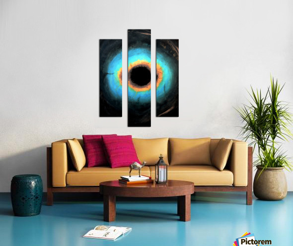 Glimpse of Black Hole No.2 Canvas print