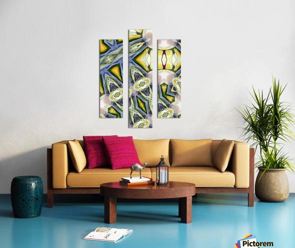 Artdeco structural c Canvas print