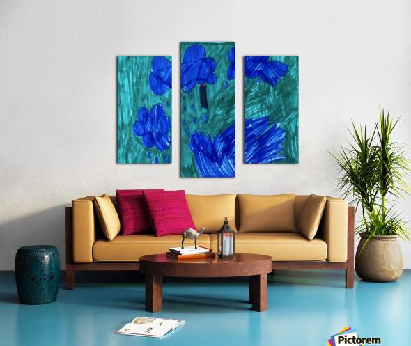 Nola rain Canvas print
