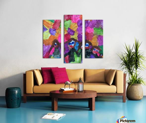 Nola family Canvas print