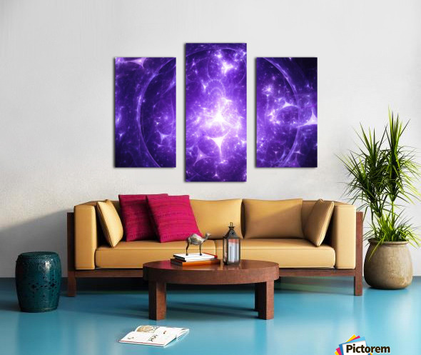 Beyond time Canvas print