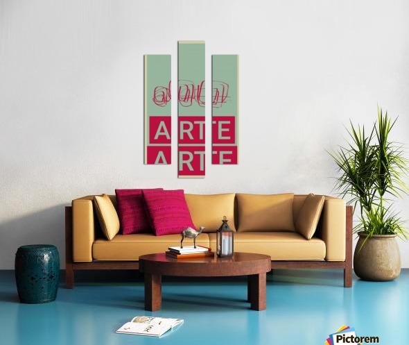 ARTE -4  Canvas print