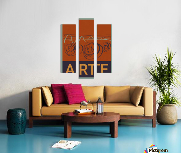 ARTE -7  Canvas print