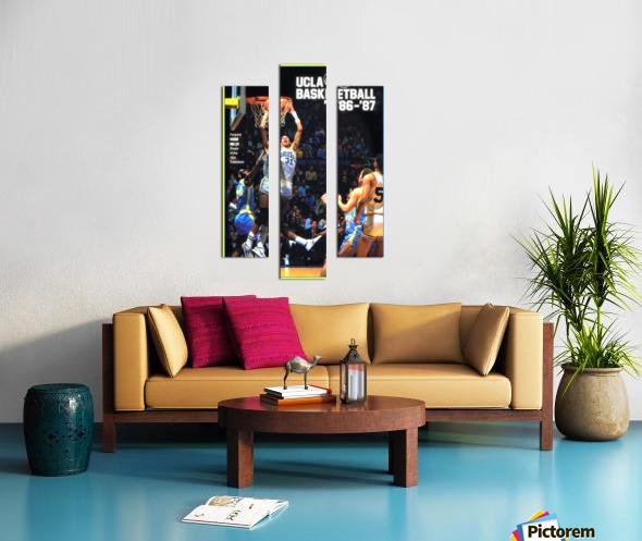1986 ucla basketball reggie miller poster Canvas print