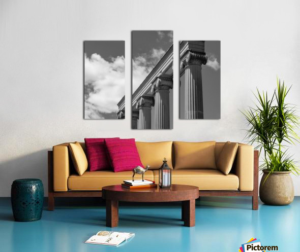 KIng West Columns Canvas print