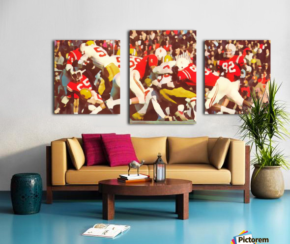 Saturday Afternoon In Lincoln Canvas print