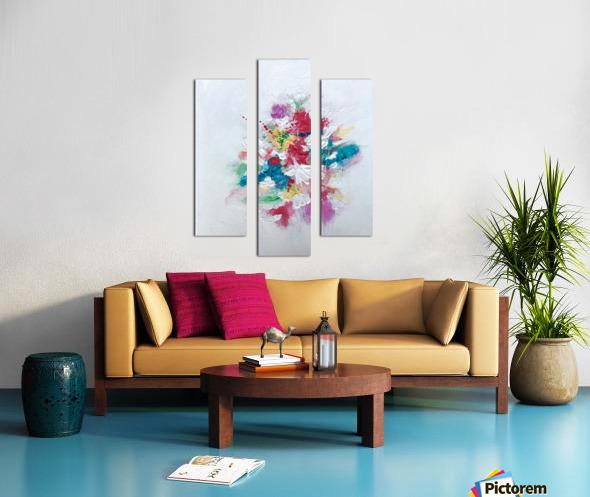 Flower bouquet Impression sur toile