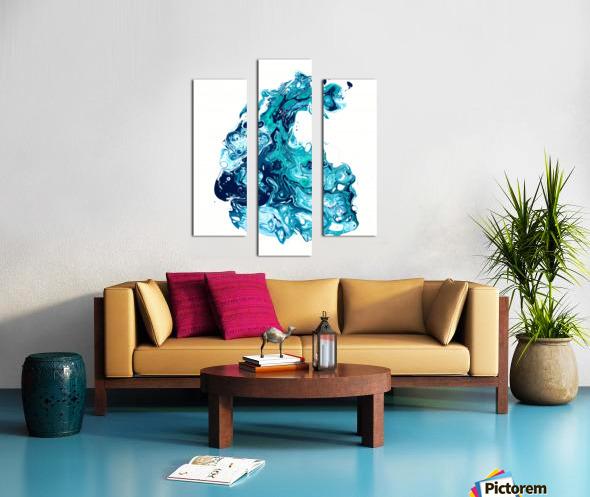 Surf Wave Canvas print