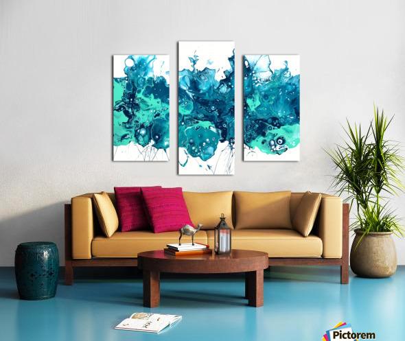 Bluecrush Impression sur toile