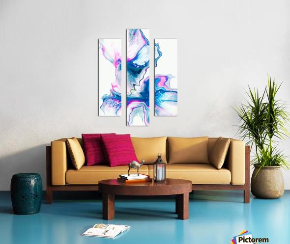 Flower Bomb Canvas print