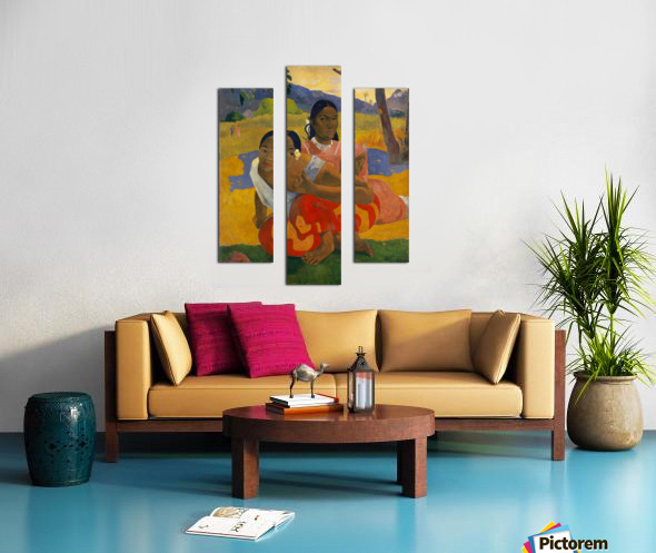 Paul Gauguin: When Will You Marry HD 300ppi Canvas print