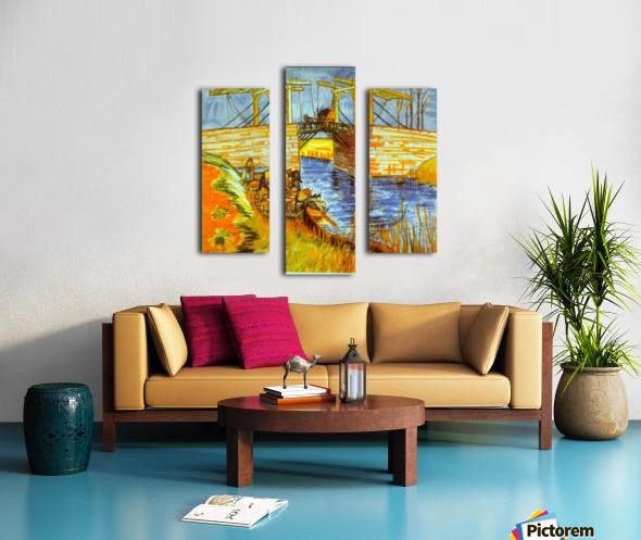 Langlois by Van Gogh Canvas print