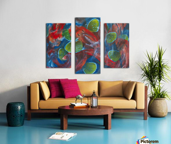 Sea Robins Canvas print