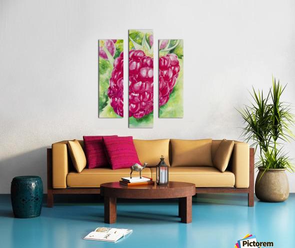Summer Flavor: Raspberry I Canvas print