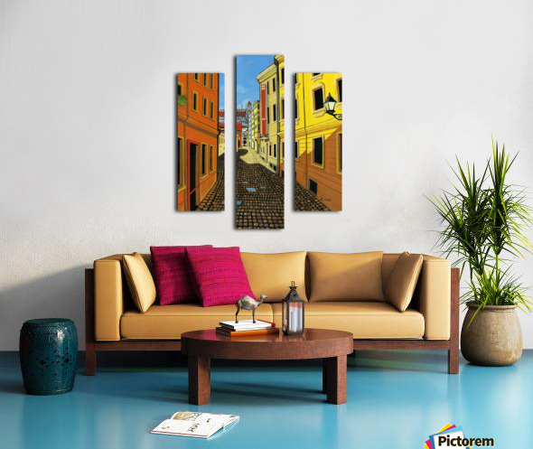 Colours of Europe Canvas print