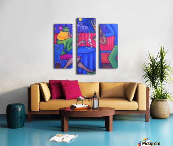 Velvet Vibe Canvas print