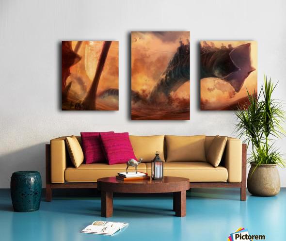 Dune World Canvas print
