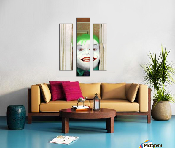 Heres The Joker Canvas print