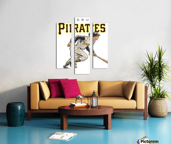 vintage pittsburgh pirates wall art Canvas print