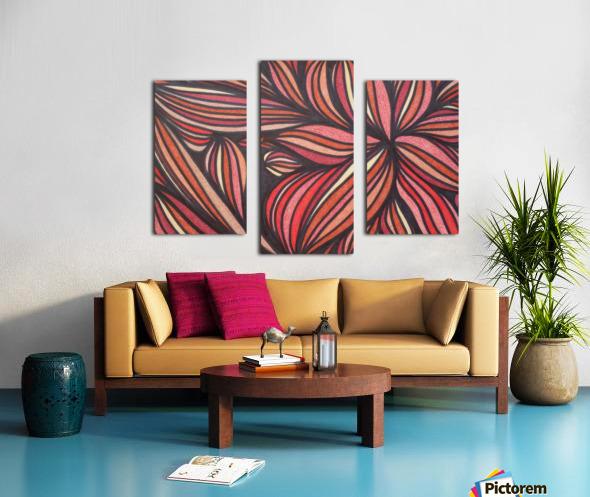 StarFlame  Canvas print
