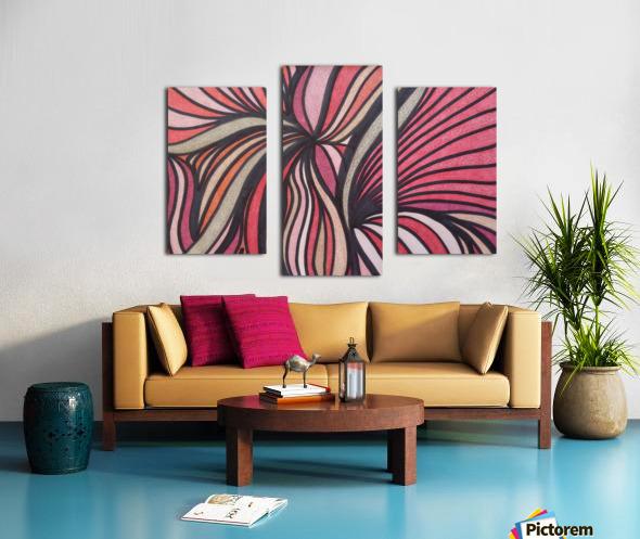 Scarlet Bluff  Canvas print