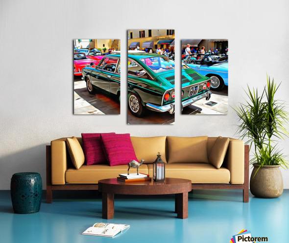 Fiat 850 Sport Coupe Canvas print