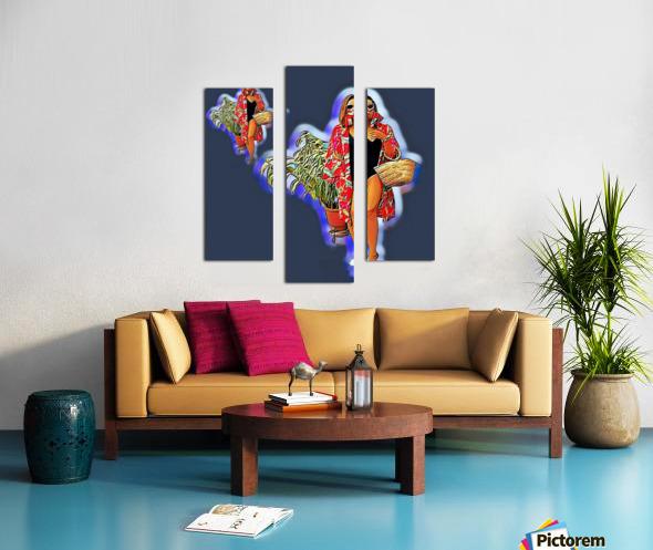 Ninja Returns Canvas print