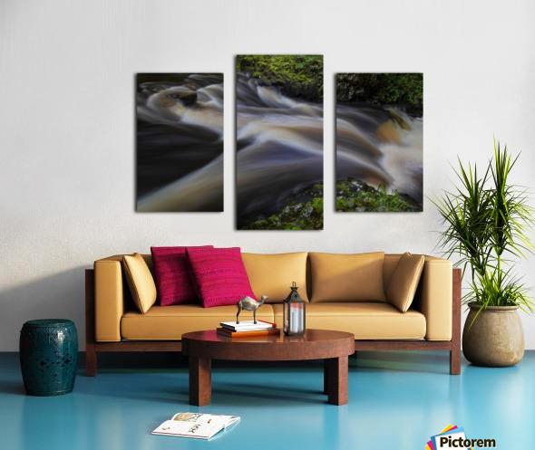 Waterfall Country at Pontneddfechan Canvas print