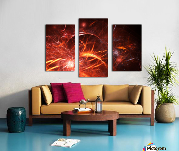 The Forge Canvas print