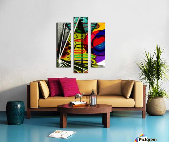 Creating Life Canvas print