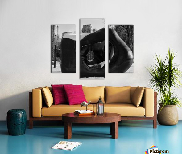 Two Large Forms at Grange Park 2 Canvas print