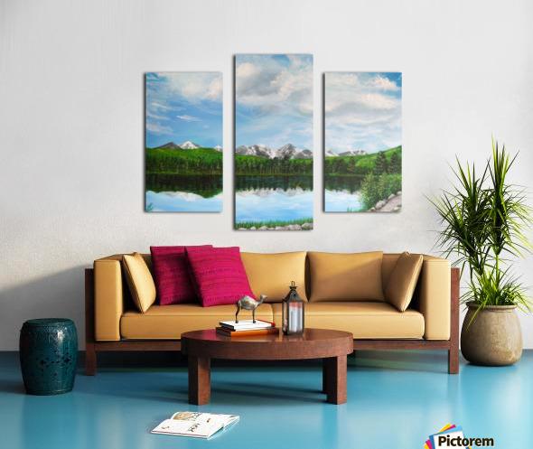 Sprague Lake CO Canvas print