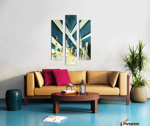 Metropolis I Canvas print