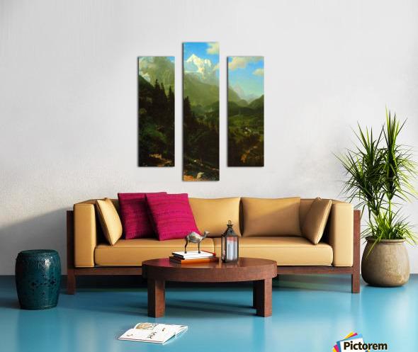 Matterhorn by Bierstadt Canvas print