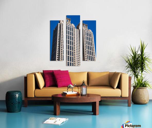 191 Peachtree Tower   Atlanta GA 6969 Canvas print