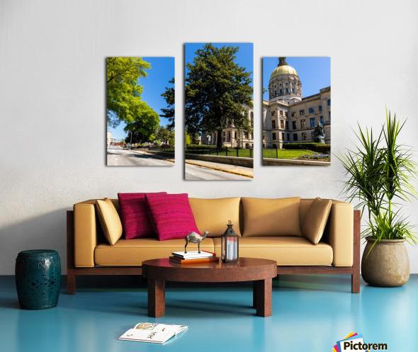 Georgia State Capitol Building   Atlanta GA 6984 Canvas print