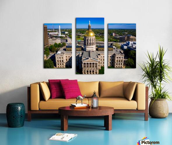 Georgia State Capitol Building   Atlanta GA 0639 Canvas print