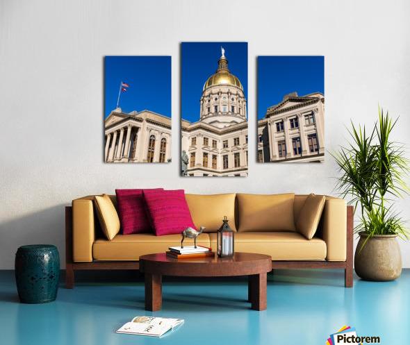 Georgia State Capitol Building   Atlanta GA 7220 Canvas print