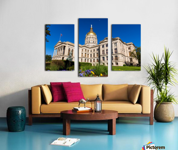Georgia State Capitol Building   Atlanta GA 7236 Canvas print