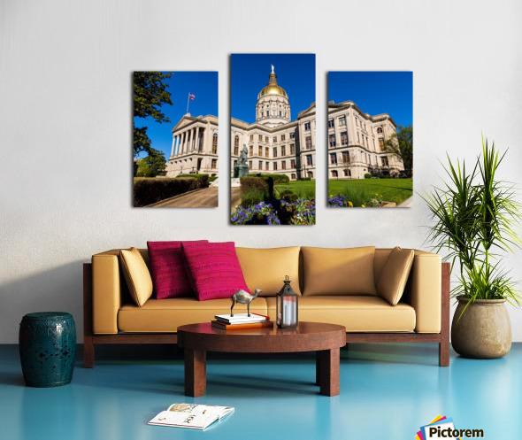 Georgia State Capitol Building   Atlanta GA 7215 Canvas print