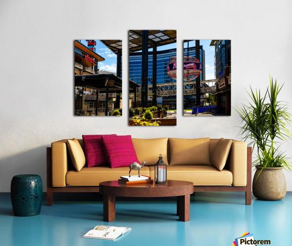 Truist Park   The Battery Atlanta GA 6741 Canvas print