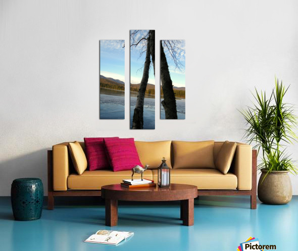 Love at the Lake Canvas print