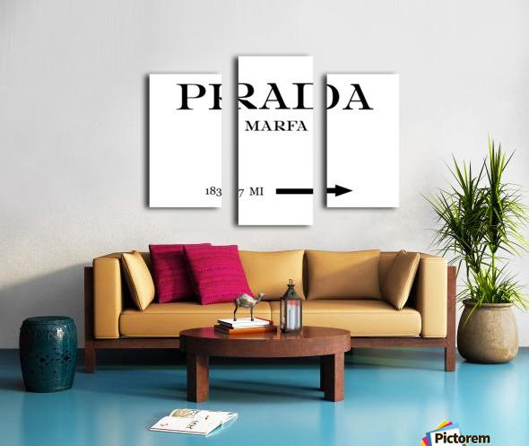 Prada Marfa Mileage Canvas print
