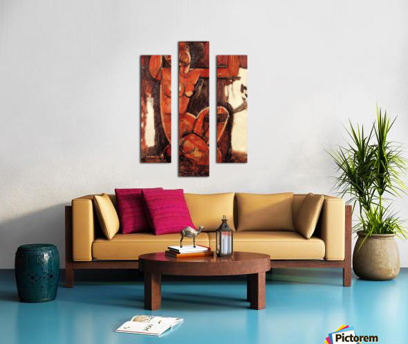 Modigliani - Caryatid -5- Canvas print