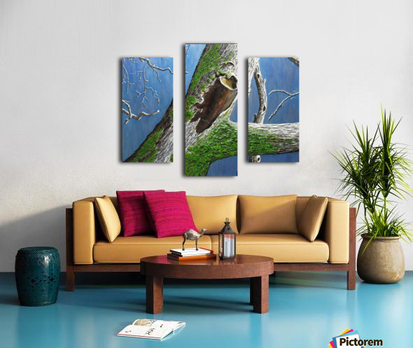 Mossy Branch Canvas print