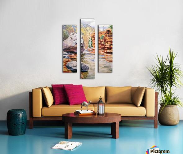 Sedona Arizona Slide Creek Canvas print